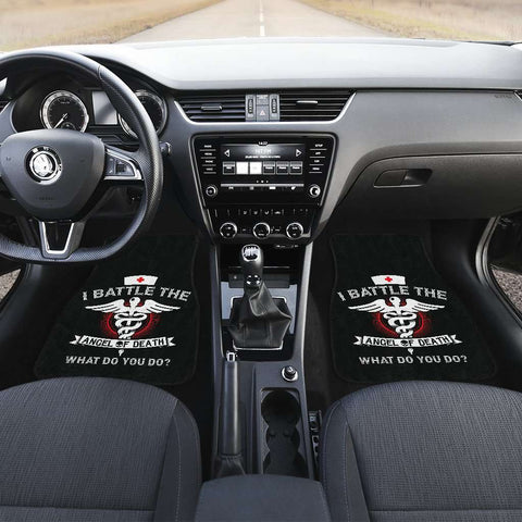 Image of Angel of Death Nurse Car Mats Set of 4