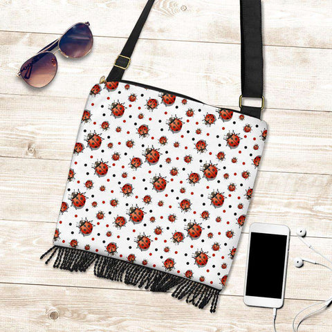 Image of Ladybird Crossbody Boho Handbag