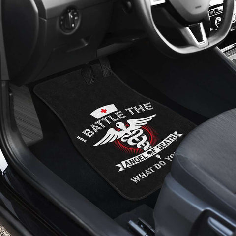 Angel of Death Nurse Car Mats Set of 4