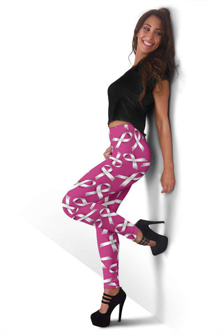 End Violence Against Women Fashion Leggings