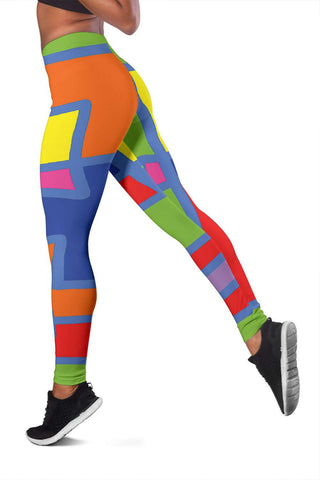 Women's Leggins Square Colors
