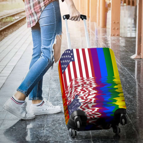 LGBT Pride Lovers Flag Luggage Covers