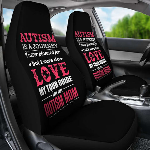 Autism Is A Journey I Never Planned Car Seat Covers