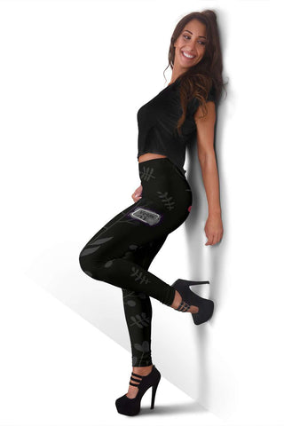 Vegan AF Leggings for Healthy Vegans