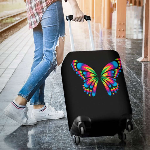 Image of Autism Awareness Butterfly Luggage Covers