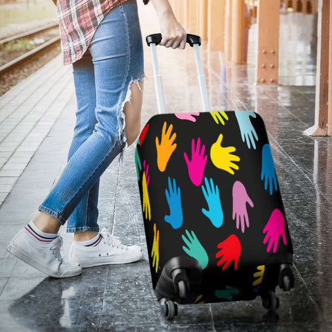 Image of Autism Hands Luggage Covers