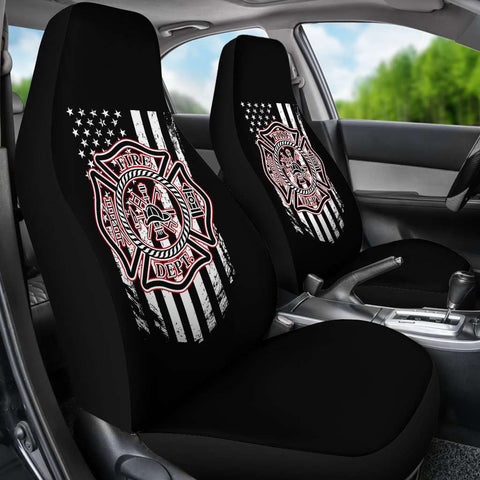Image of Firefighter Car Seat Covers