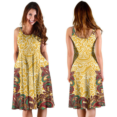 Image of Henna Midi Dress