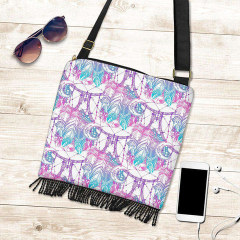 Dream Catcher Crossbody Boho Bag