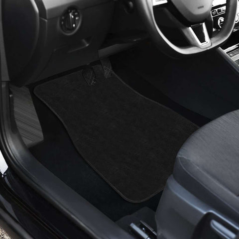 Black Mats Set Of Four