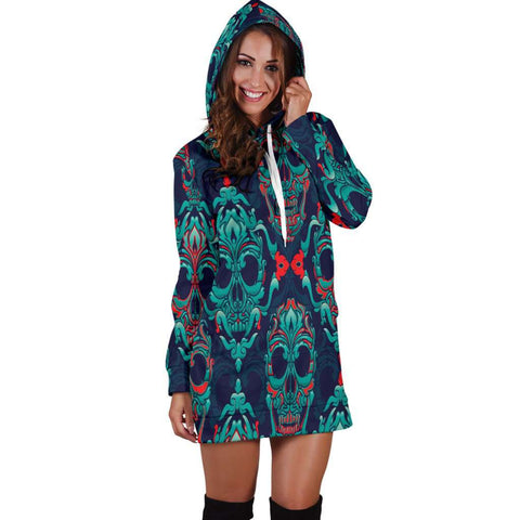 Skull Hoodies Dress