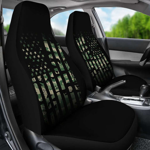 Army Flag Car Seat Covers