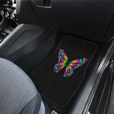 Image of Autism Awareness Butterfly Front Car Mats