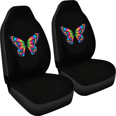Image of Autism Awareness Butterfly Car Seat Covers