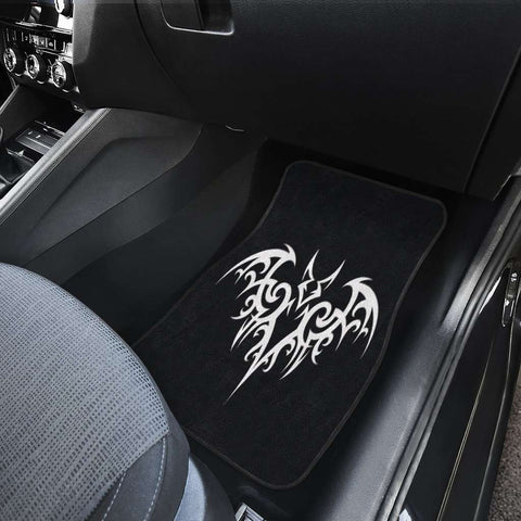 Tribal Bat Car Floor Mats