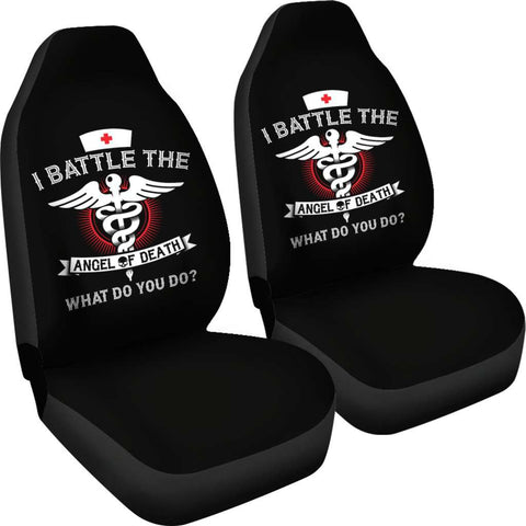Angel of Death Nurse Car Seat Covers