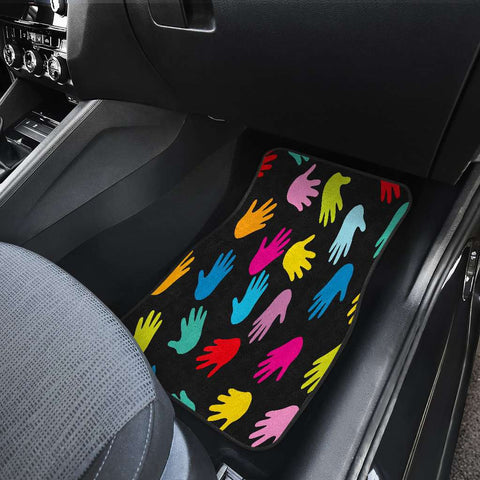 Image of Autism Hands Front Car Mats
