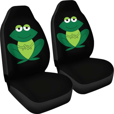 Green Frog Car Seat Covers