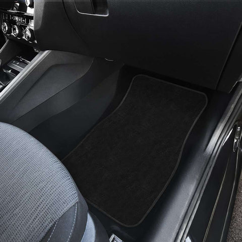 Image of Black Front Car Mats (Set Of 2)