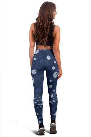 Denim Moons Leggings