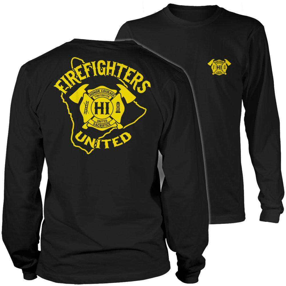 Hawaii Firefighters United T Shirt