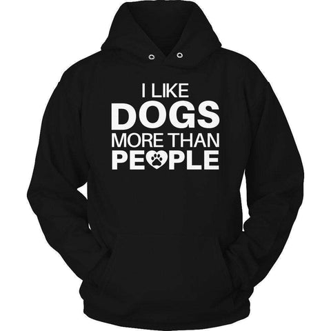 Image of I Like Dogs More Than People T Shirt
