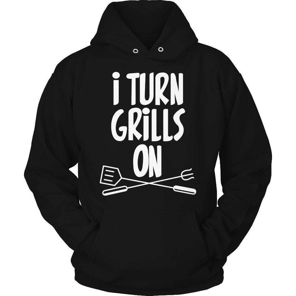 I Tuirn Grills On T Shirt
