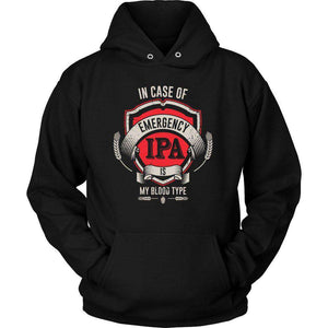 IN CASE OF EMERGENCY IPA IS MY BLOOD TYPE T Shirt