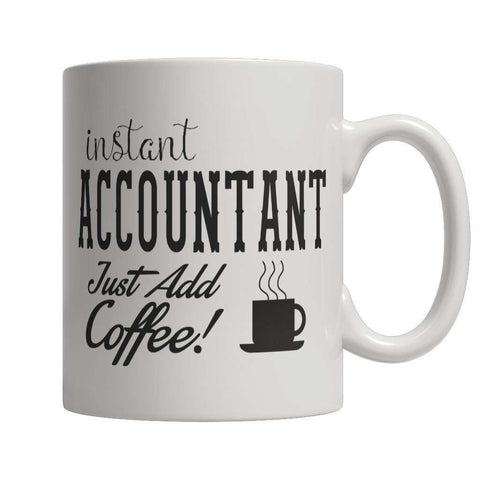 Image of Instant Accountant Just Add Coffee Mug