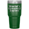 World's Greatest Farter Father 30 Ounce Vacuum Tumbler