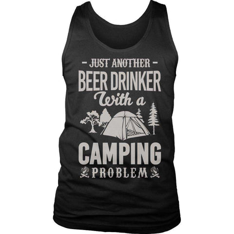 Image of Just Another Beer Drinker With A Camping T Shirt