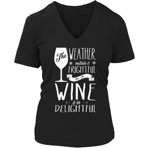 Image of Limited Edition - The Weather is Frightful but the wine is delightful
