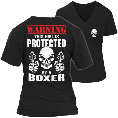 Image of Limited Edition - Warning This Girl is Protected by a Boxer