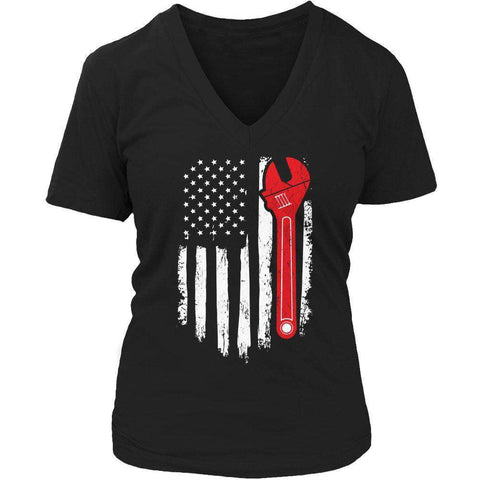 Mechanic Flag T Shirt