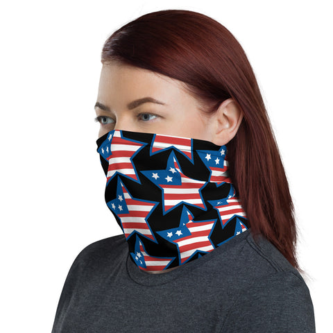 Usa Flag Bandana Face Mask