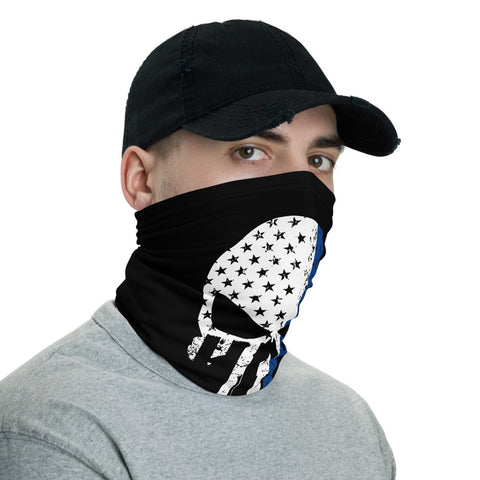 Image of Bandana Face Mask, Punisher Skull Bandana, Face Mask, Dust Face Mask, Punisher Skull Face Mask, Neck Gaiter,Punisher Bandana,Reusable Mask
