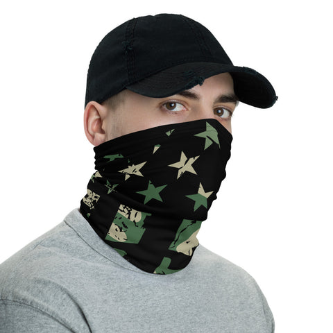 Bandana Face Mask, Army Camouflage Flag Bandana, Face Mask, Dust Face Mask, Camo Face Mask, Neck Gaiter, Bandana, Camouflage, Reusable Mask