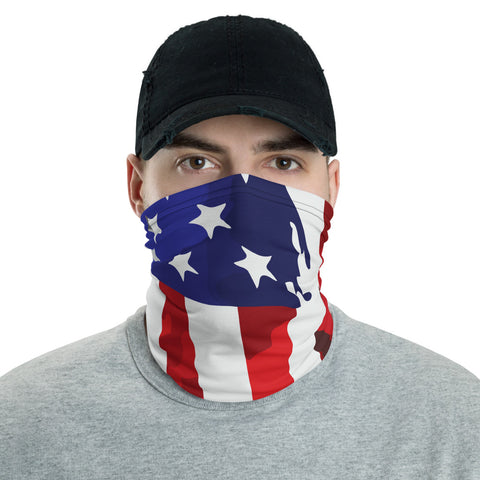 Usa Flag Bandana Face Mask, USA Flag Bandana, American Flag Headband, American Flag Bandana, USA Face Flag Mask, USA Flag Face Mask