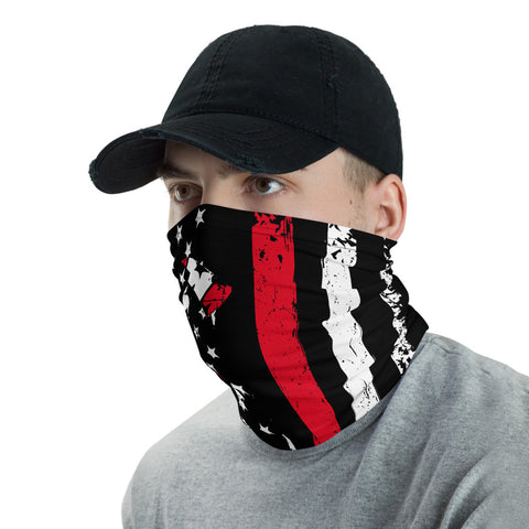 Firefighter Flag Bandana