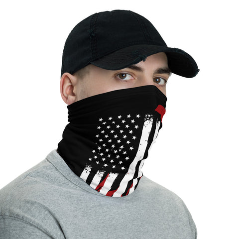 FireFighter Axe Flag, Bandana Face Mask, Dust Face Mask, Adults Face Mask, Firefighter Face Mask Flag,Flag Face Mask Bandana Reusable Mask
