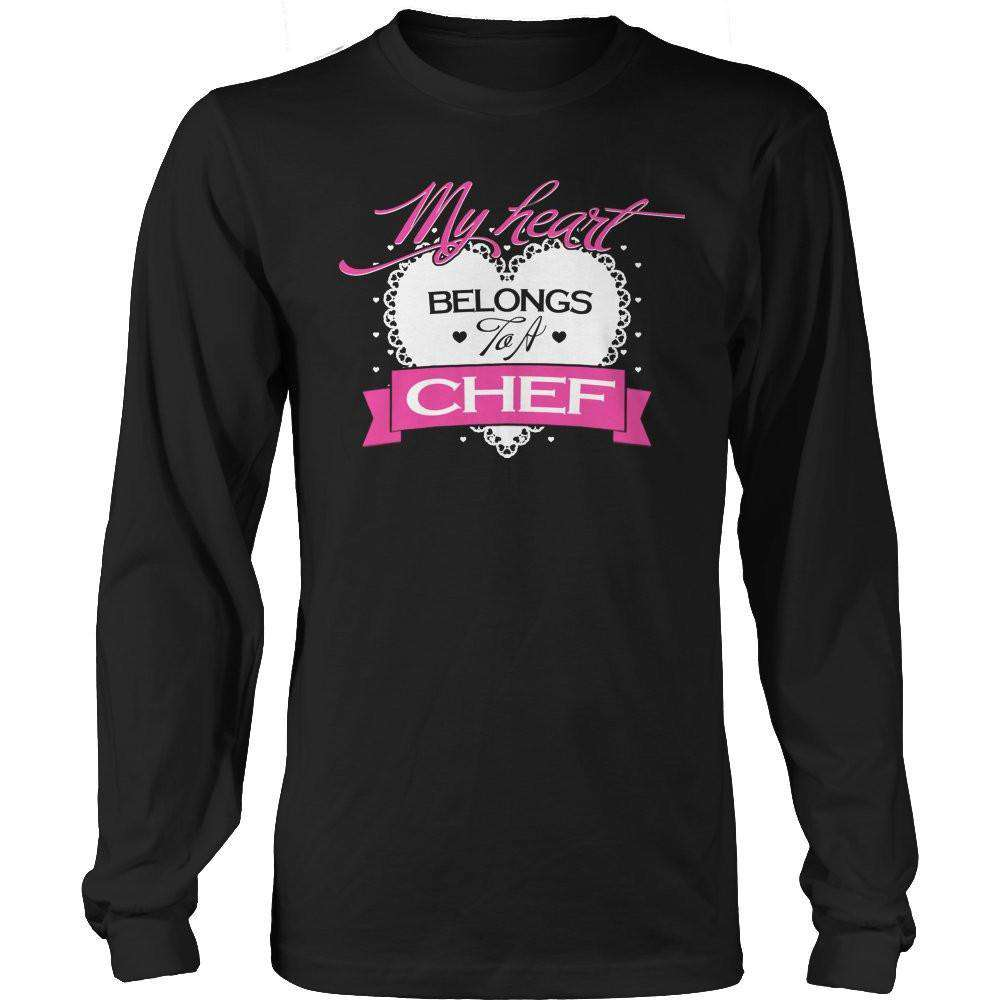 My Heart Belongs to A Chef T Shirt