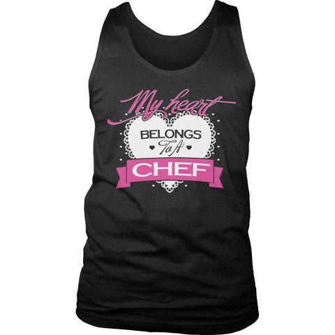 Image of My Heart Belongs to A Chef T Shirt