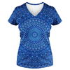 Blue Mandala T Shirt