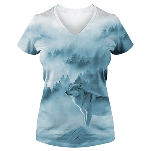 Wolf In Forest T Shirt