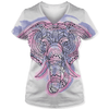 Elephant Drawing T Shirt
