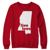 Live Love Mississippi - My State Shirts