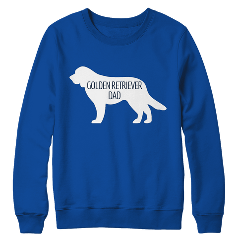 Golden Retriever Dad Tshirt