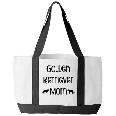 Golden Retriever Mom Tote