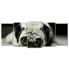Pug Canvas Wall Art