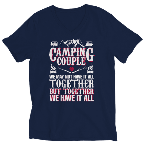 Image of Camping Couple T Shirt